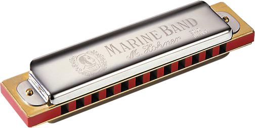 Hohner Marine Band Soloist 12-Hole Key of C (364/24)