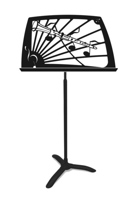 NOTEWORTHY CLARINET MUSIC STAND