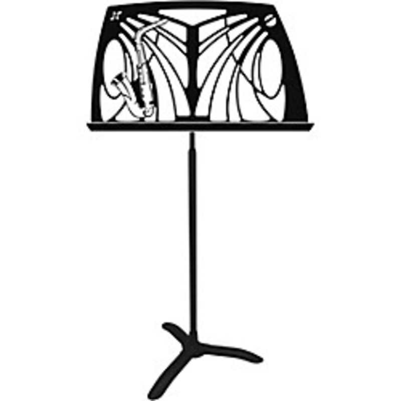 NOTEWORTHY SAXOPHONE MUSIC STAND