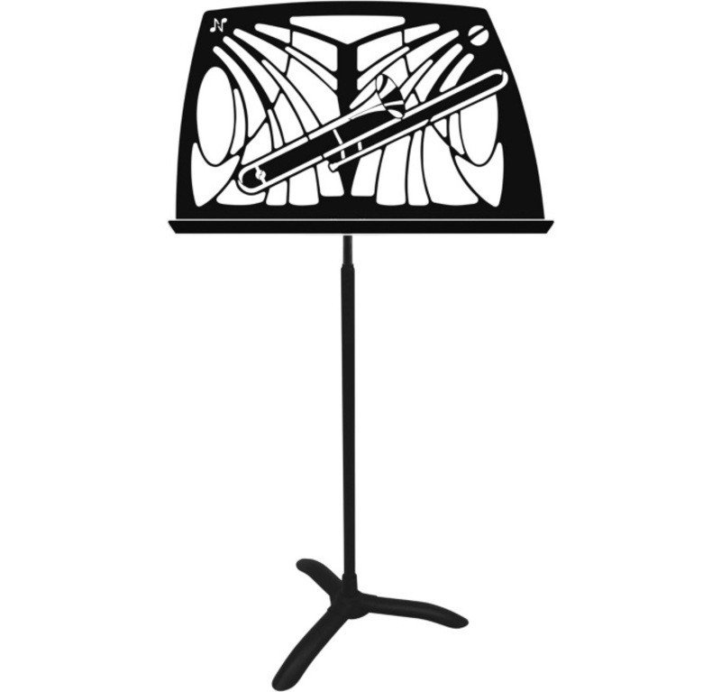 NOTEWORTHY TROMBONE MUSIC STAND