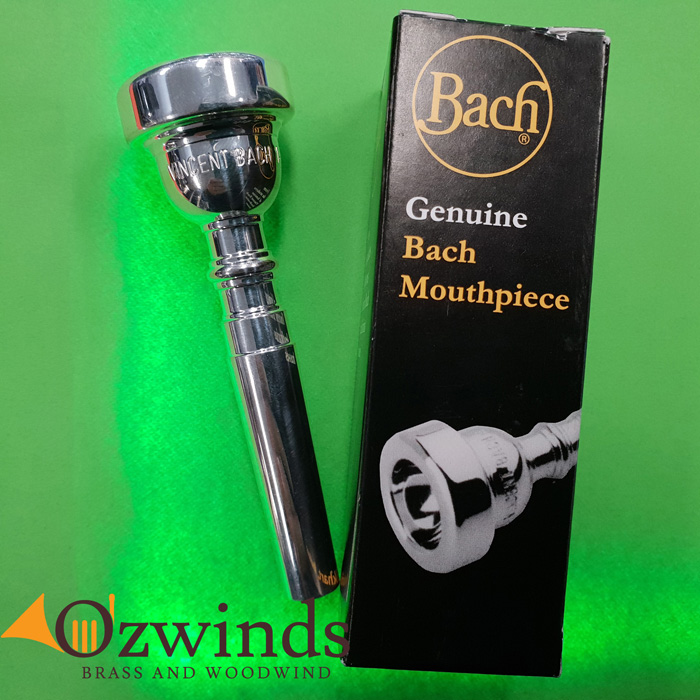 Bach Trumpet Mouthpiece, Various Sizes available