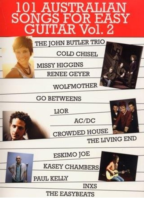 101 AUSTRALIAN SONGS FOR EASY GUITAR VOL 2