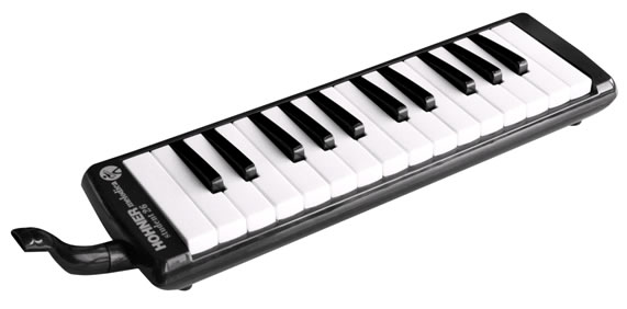 Hohner Student 26 Melodica, Black, Red or Blue