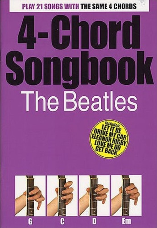 4 CHORD SONGBOOK BEATLES LC