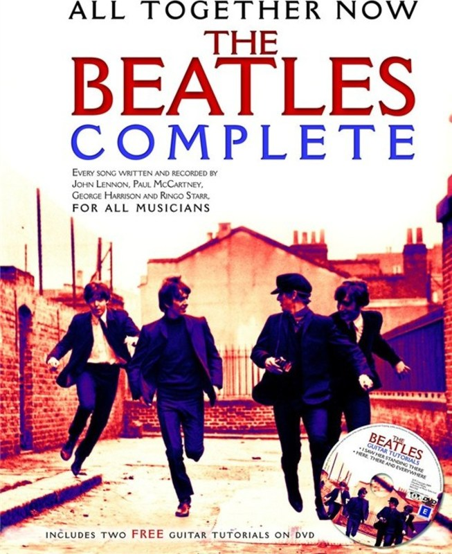 ALL TOGETHER NOW THE BEATLES COMPLETE BK/DVD