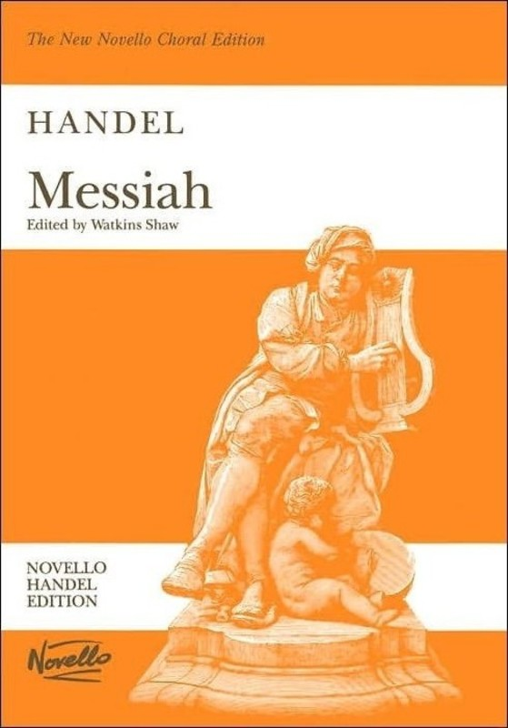MESSIAH VOCAL SCORE- WATKINS SHAW EDITION PB