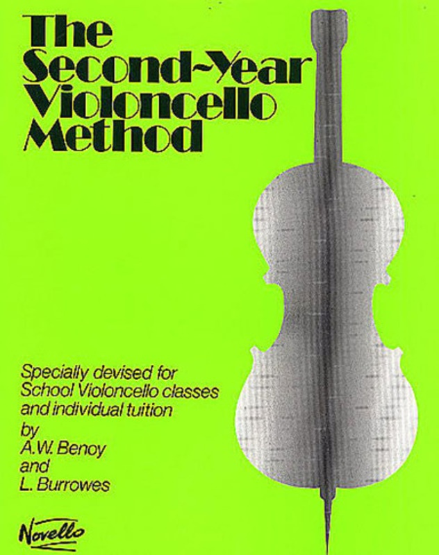 BENOY CELLO METHOD SECOND YEAR