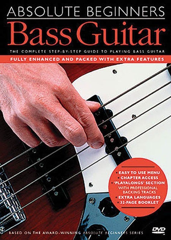 Absolute Beginners Bass Guitar Dvd