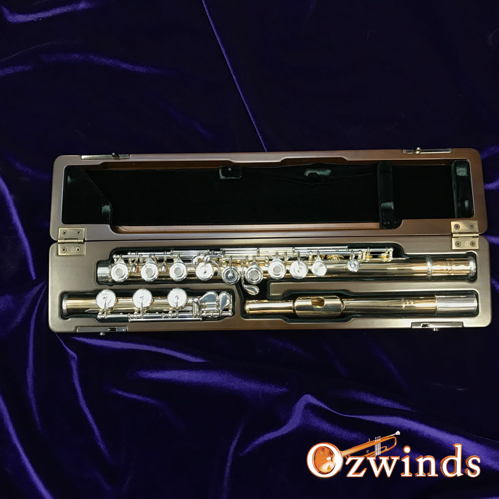 Pearl Maesta 9811 Hand Made 10K Gold Flute