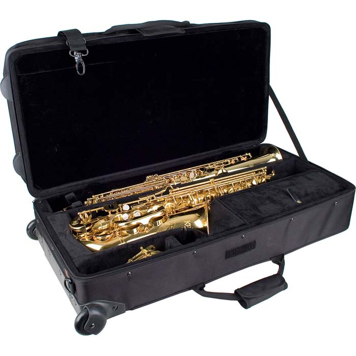 PROTEC Alto / Soprano Sax Combination PRO PAC with Wheels