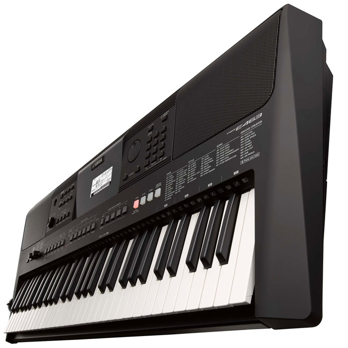 Yamaha PSR-E-463 61-Key Touch Sensitive Keyboard