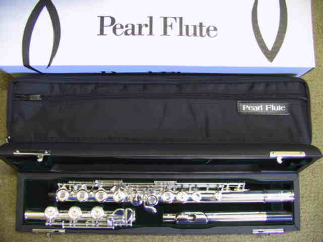 Pearl 765RBE Quantz Flute, Free pre sale setup included