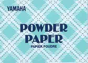 YAMAHA POWDER PAPER 50 SHEETS