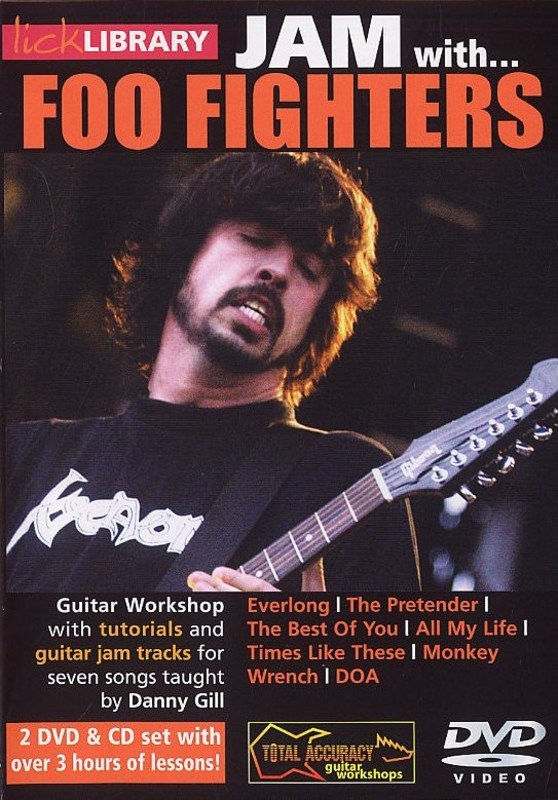 JAM WITH FOO FIGHTERS DVD