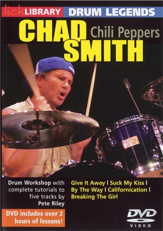 DRUM LEGENDS CHAD SMITH (RED HOT C.P.) DVD