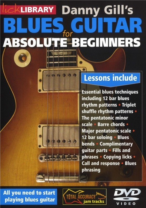 Absolute Beginner Blues Guitar Dvd