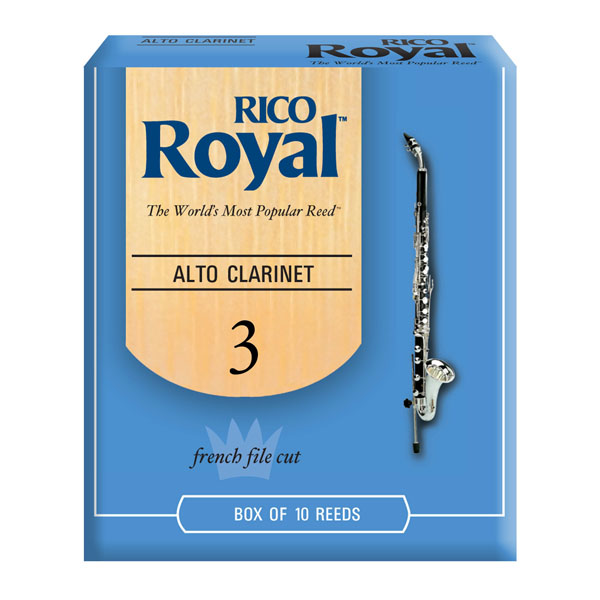 Rico Royal Alto Clarinet Reeds by D'Addario