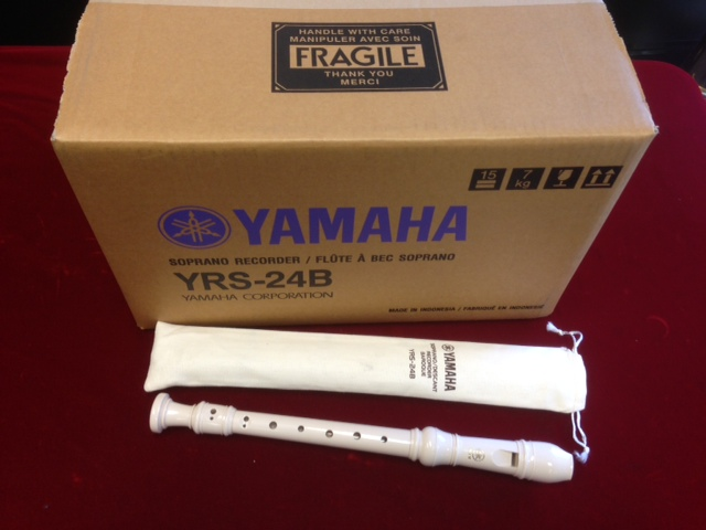 Yamaha YRS24B Descant C 3 Piece Recorders (BOX OF 50)