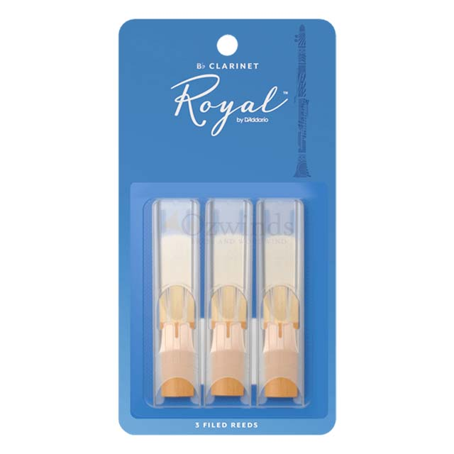 Rico Royal Clarinet Reeds (Pack of 3)