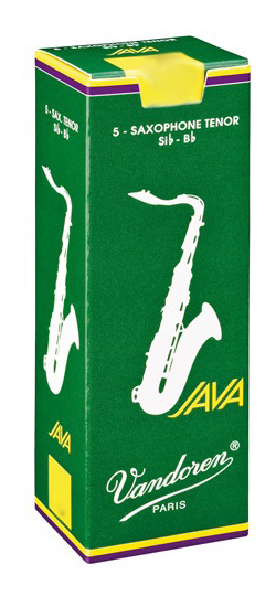 Vandoren Java (Green) Tenor Sax Reeds (Box of 5)
