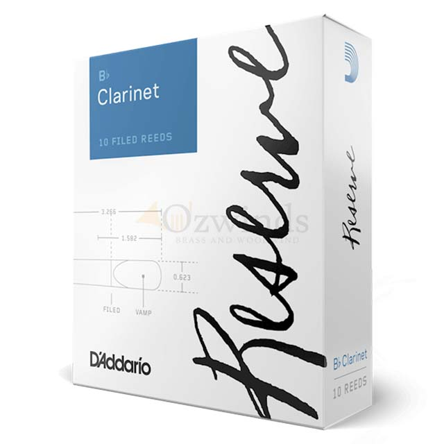 D'Addario Reserve Clarinet B-flat (Box of 10)