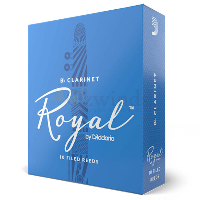 Rico Royal by D'Addario Clarinet Reeds (Box of 10)