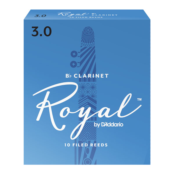 Rico Royal by D'Addario Bb Clarinet Reeds (Box of 10)
