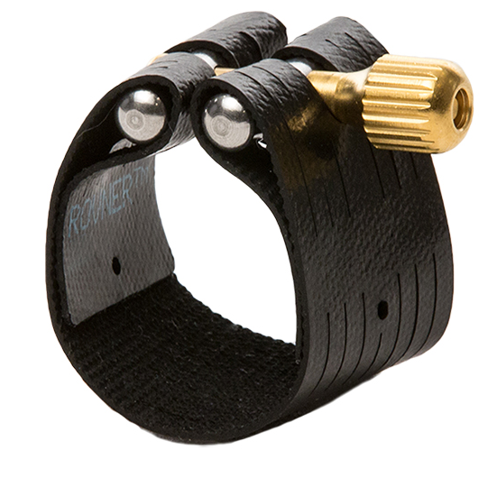 "Rovner ""Dark"" Bari Sax Ligature for Ebonite Mouthpieces"