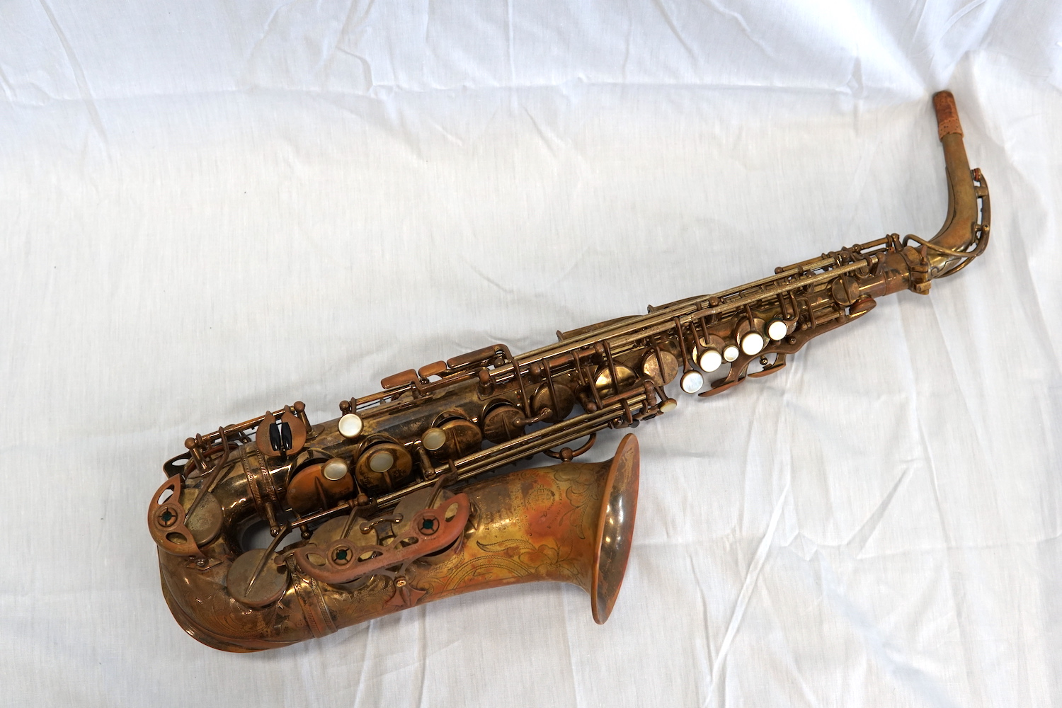 Selmer Balanced Action 1937 Alto Saxophone #27920 (Used)