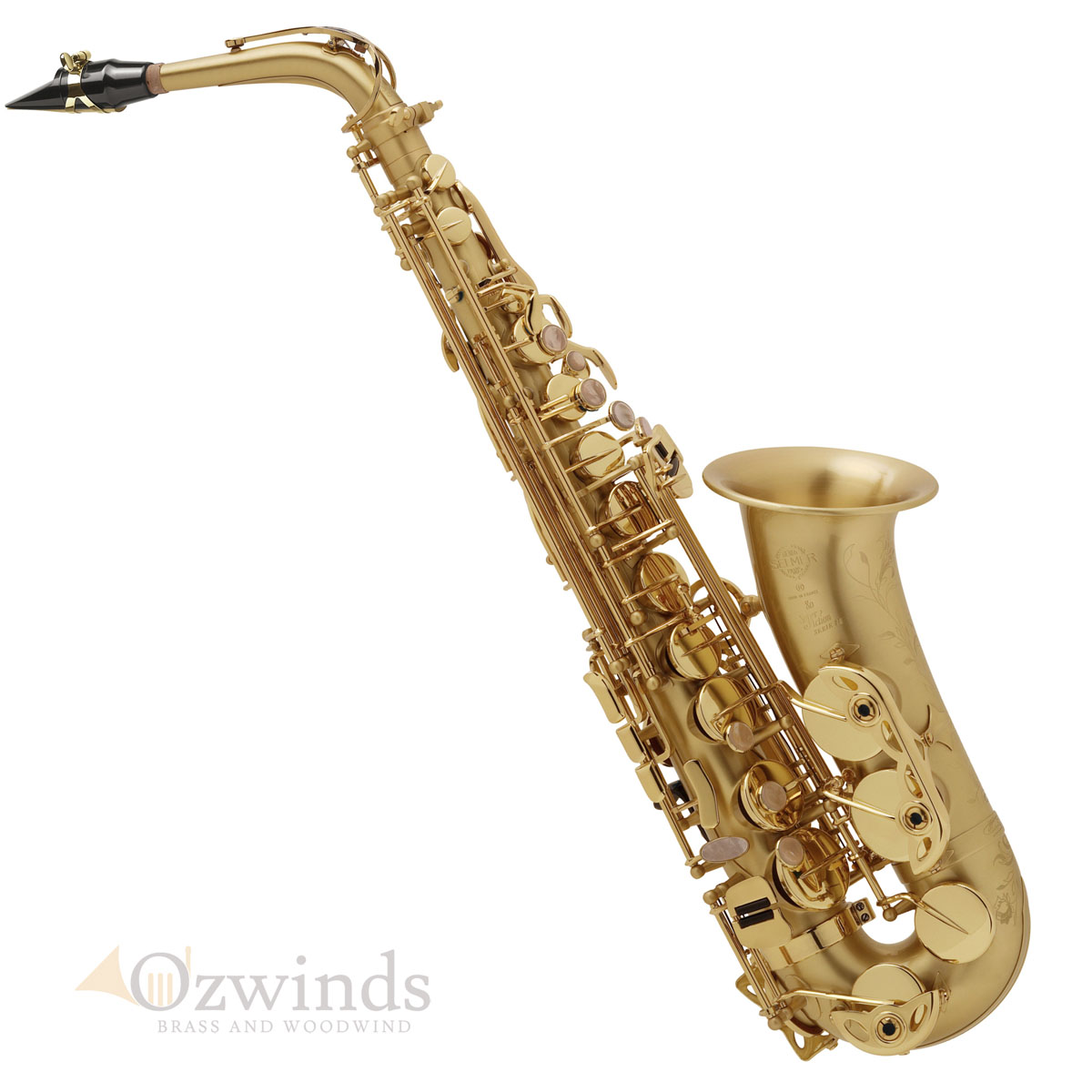 Selmer Paris Alto Saxophone Series II Jubilee (Brushed Gold Lac)