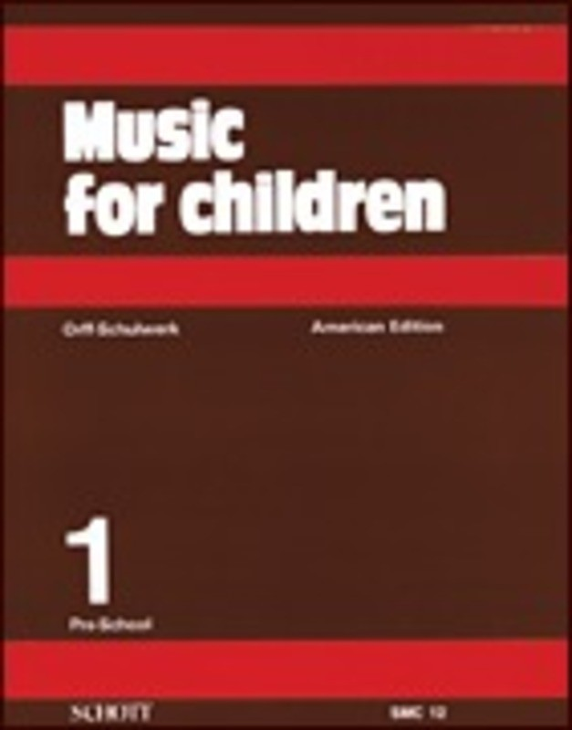 MUSIC FOR CHILDREN VOL 1 AMERICAN EDITION PRE-SCHOOL