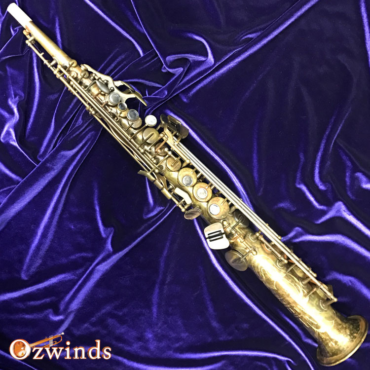 Schagerl Superior Series Soprano Saxophone - Antique Finish