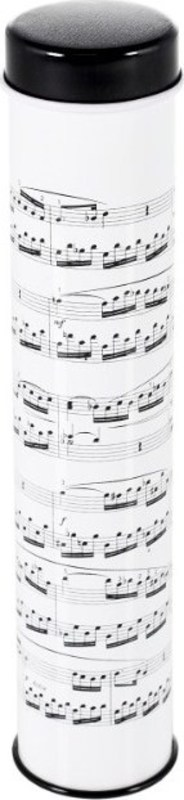 12 COLOUR PENCILS IN MUSIC TIN