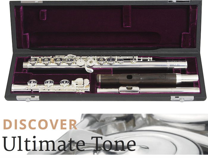 Trevor James -31VF-HROEWD Virtuoso Flute With 2 Head Joints