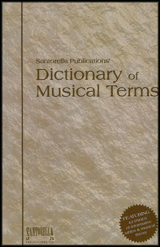 DICTIONARY OF MUSICAL TERMS (NEW EDITION)