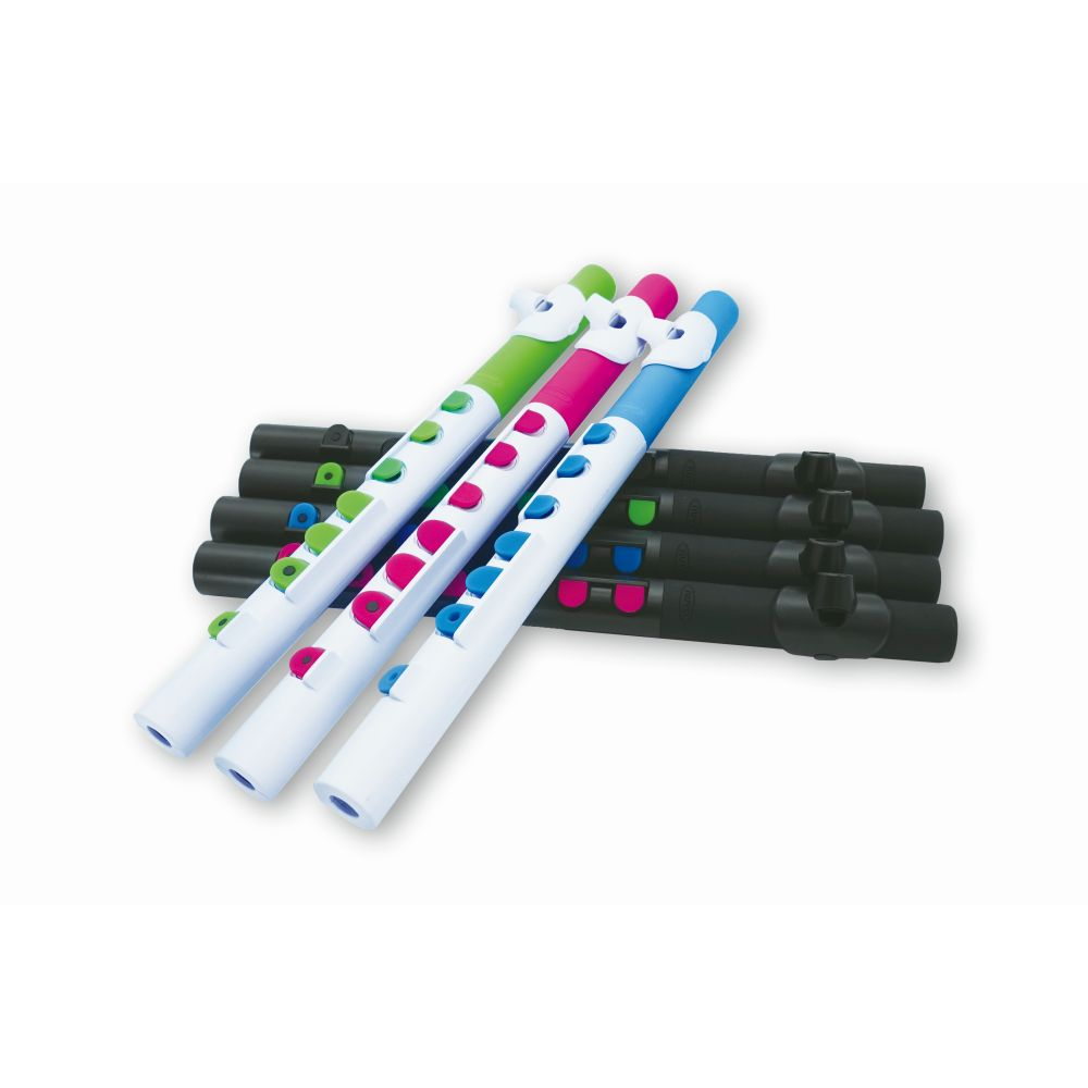 Nuvo TooT 2.0 Mini Flute, ABS, Assorted Colours Available