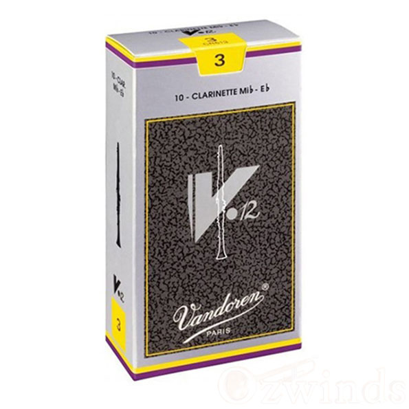 Vandoren V12 E-flat Clarinet Reeds (Box of 10)
