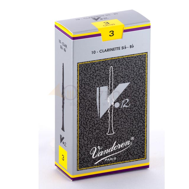 Vandoren V12 Clarinet Reeds (Box of 10)