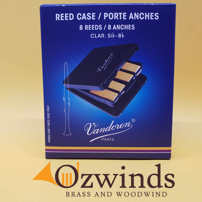 Vandoren Reed Case (8 Reeds) for Clarinet