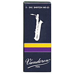 Vandoren Traditional Baritone Sax Reeds (Box of 5)