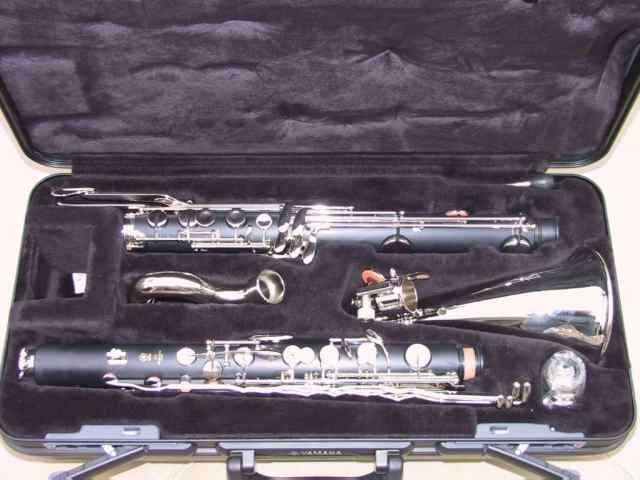 Yamaha YCL-221 II Bass Clarinet with our pre sale set-up.