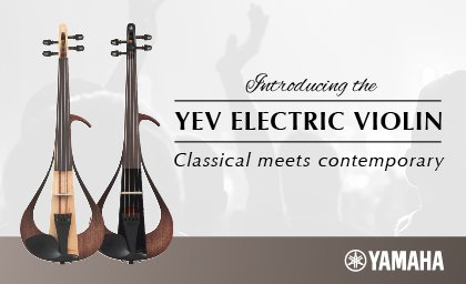 Yamaha Electric Violins YEV