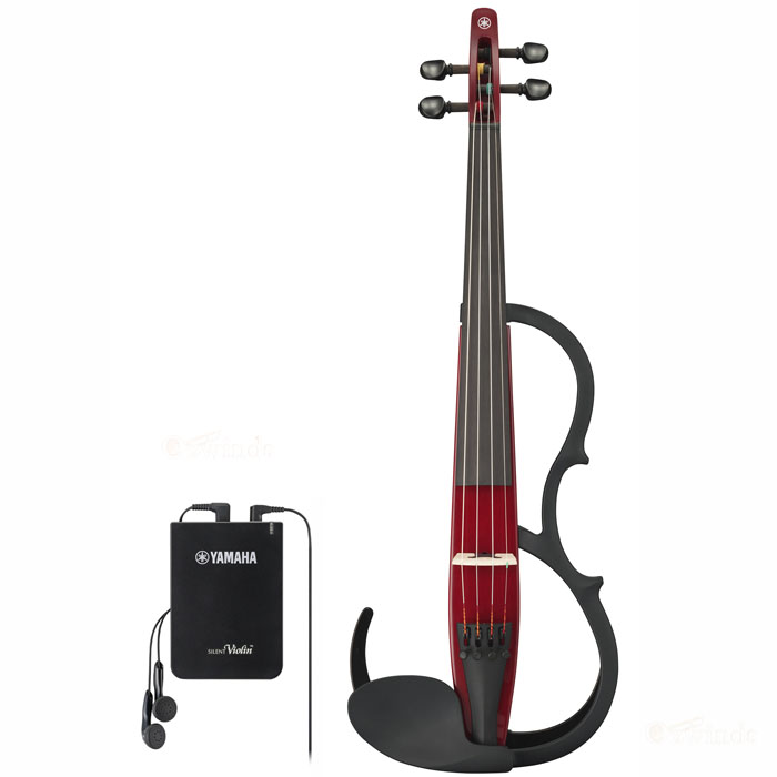 Yamaha Silent Violin YSV-104RDII New Model (Red)