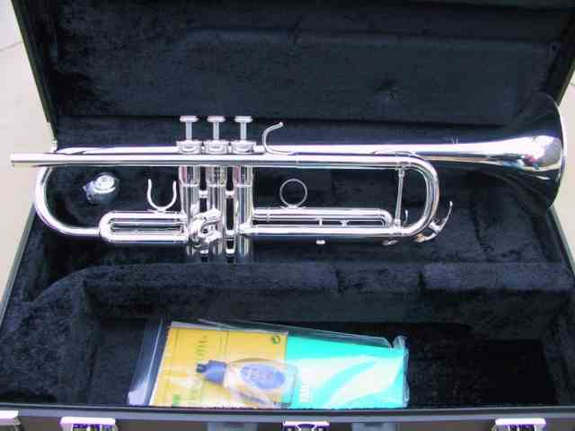 Yamaha YTR-6335S Silver Trumpet, Ozwinds Sale Price $1615