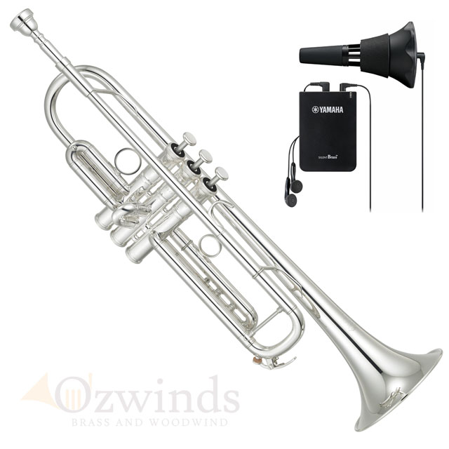 Yamaha YTR-8335RSII Xeno Trumpet with FREE Silent Brass