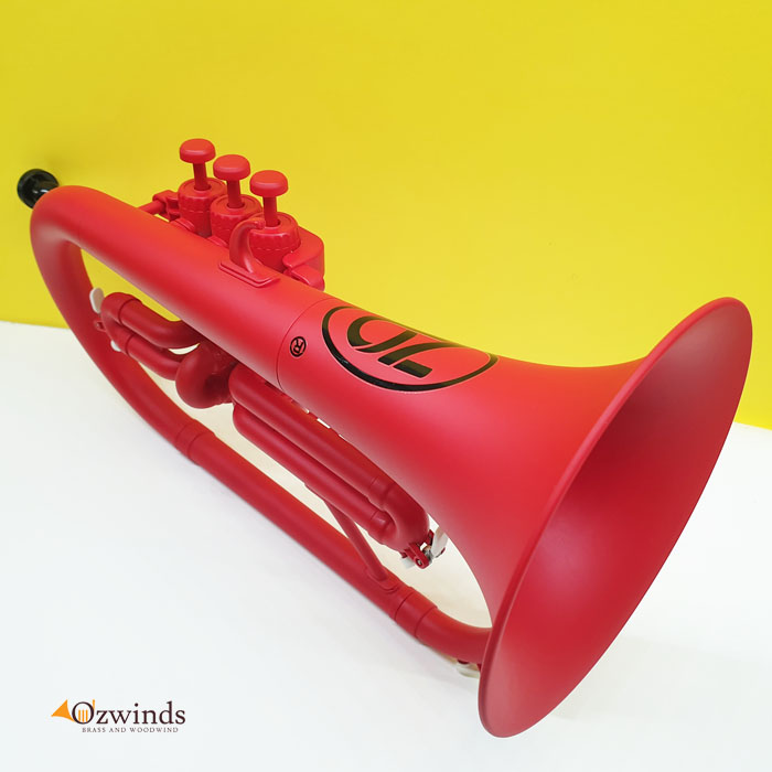 Zo Plastic (ABS) Flugelhorn - Matte Racing Red