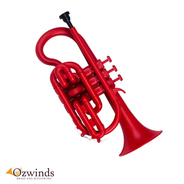 ZO Next Generation Plastic Cornet (ABS) Matte Racing Red