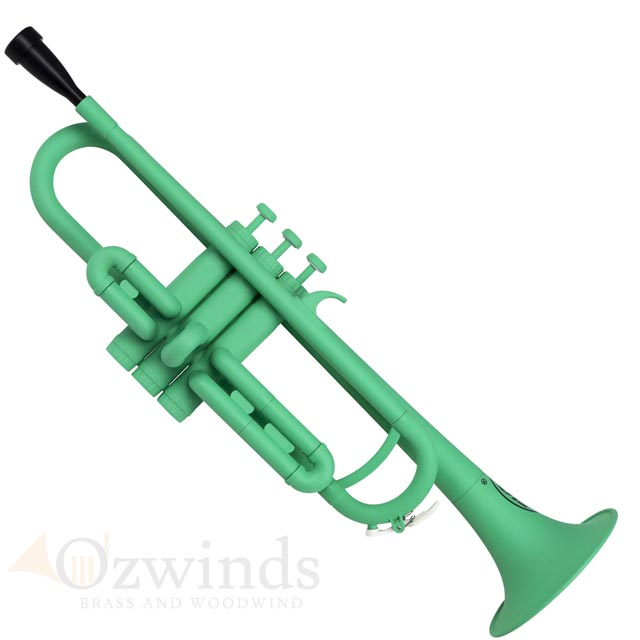 ZO Next Generation Plastic Trumpet (ABS) Matte Screamin Green