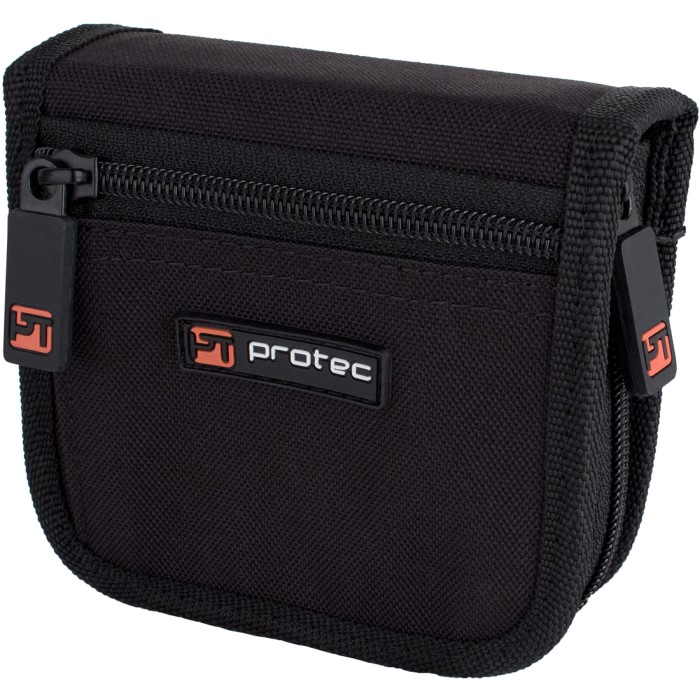 Protec Trombone Mouthpiece Pouch - 2 Piece (Nylon) Zip Closure
