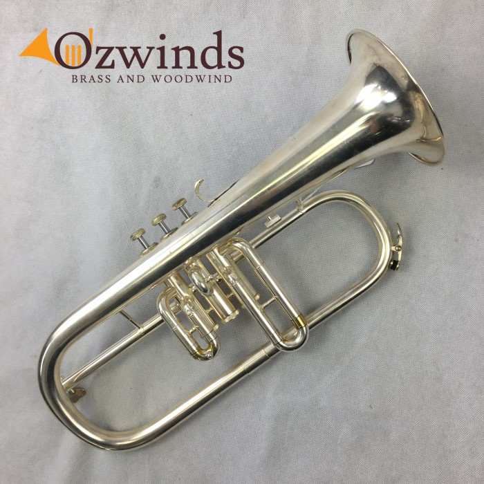 Amati Kraslice 3 Valve Silver Plated Flugelhorn (USED) #744341 NOW SOLD